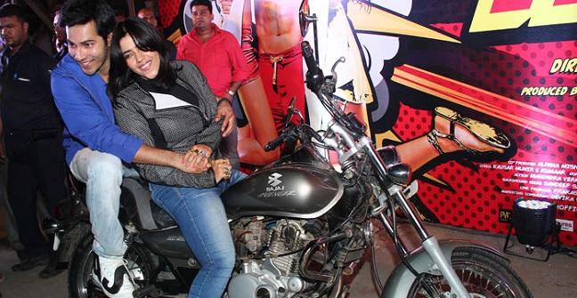 Riding bike was tough: Ekta Kapoor