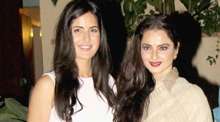 Amazed by Rekha's grace, enthusiasm: Katrina Kaif