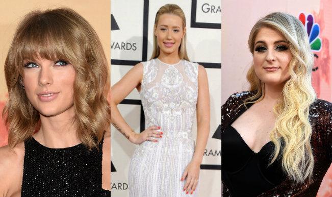 Swift, Azalea, Trainor attend iHeartRadio Music Awards