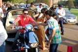 New Delhi: Salman Khan and Jacqueline Fernandez during shooting of a film