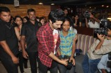 Varun Dhawan promotes their film at cafe and theatres