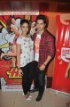 Ileana D Cruz and Varun Dhawan promotes their film at cafe and theatres