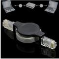 1.5M 5FT Retractable Ethernet RJ45 LAN Network Cable