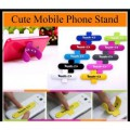 Touch-U Silicone Universal Portable Stand for Smart Phone-Random Colours