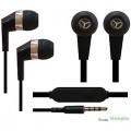 3.5mm In the Ear Stereo Earphones with Mic Compatible with Lenovo, Motorola, Vivo