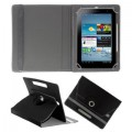 DAYDEAL Rotating Flip Cover For Micromax Canvas Tab P480 (Black)