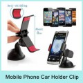 KSJ Universal Car Holder Mobile Phones GPS Holder Stand Car Mount For Smart Phones (Black)