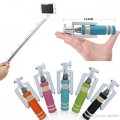 MiNi SeLFiE STiCK WiTH AuX FoR MoBiLE PhONe code-4
