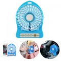 Bestellan Mini Portable Multifunctional Rechargeable Fan Assorted Multicolour
