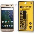 Dmg Fiber Screen Guard, Ikare Impossible Fiber Tempered Glass Screen Protector For Moto G5 Plus