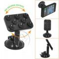 Shutterbugs Universal 360 Spider Rotating Adjust Car Mount Suction Cup Mobile Phones Holder ( Assort