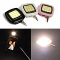Night Using Selfie Enhancing LED Flash Light 3.5 mm jack