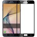 3D Full Screen Curved Temper Titanium Alloy Glass for Samsung Galaxy J7 Prime Black