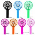 Pinnaclz Portable USB Fan with Handle Rechargeable Battery (Assorted Colour)